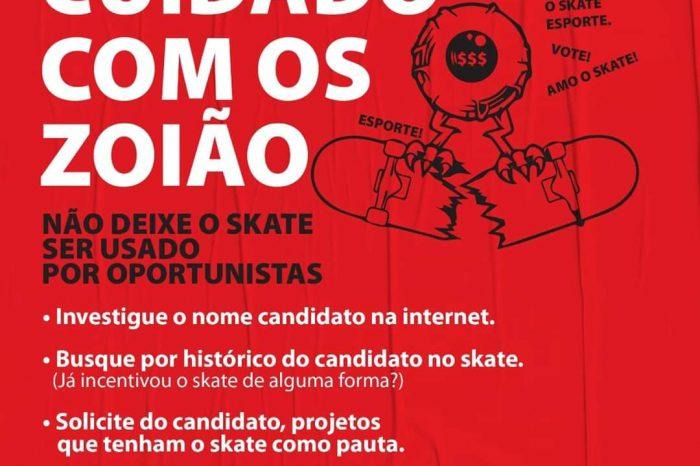 Skate Usado em Lives de Pré Candidatos - Portal OH2C