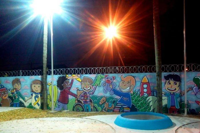 Pensando na Inclusão Social o Artista Urbano Carlos Silva Criou Diversas Artes - Portal OH2C