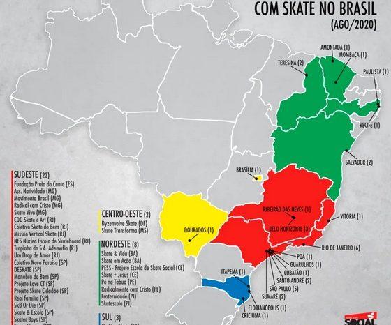 CBSk e ONG Social Skate Mapeiam Projetos Sociais - Portal OH2C