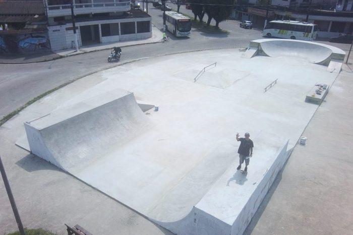 Skatistas de São Vicente/SP Ganham Espaço para Acompanhar as Obras da Prefeitura - Portal OH2C