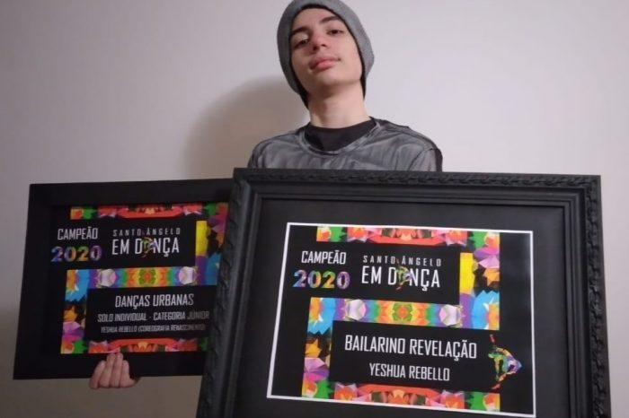 Menino Paulista de 13 Anos Ganha Primeiro Lugar em Festival de Dança On-line - Portal OH2C