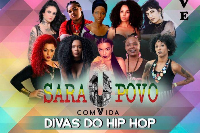 """SaraUpovo comVida """"Divas do Hip Hop"""" - Portal OH2C"""