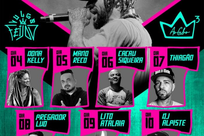 """Rapper Feijão do Grupo Ao Cubo Apresenta - Série de Lives """"Nosso Rap"""" - Portal OH2C"""