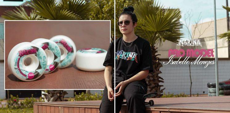 Narina Skate Apresenta - Rodas Pro Model da Atleta Isabelle Menezes - Portal OH2C