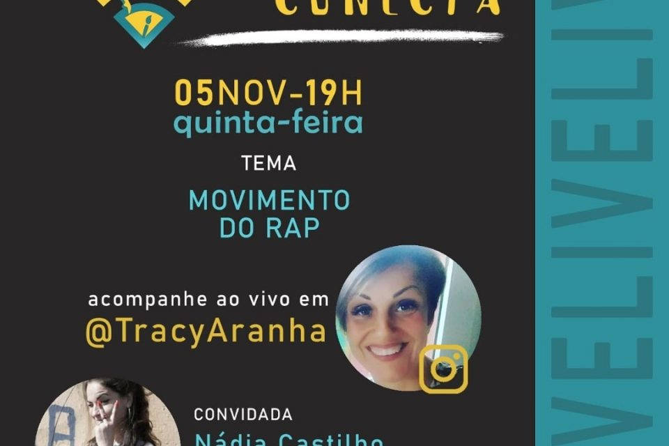 """Produtora Cultural, Escritora e Poetisa """"Nádia Castilho"""" na Live da Cultura Conecta - Portal OH2C"""