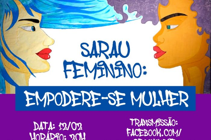 """3° Edição do Sarau Feminino: """"Empodere-se Mulher"""" - Portal OH2C"""