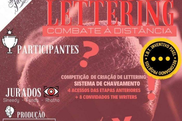 "TBT INVENTIVO PIXEL – Desafio de Lettering ""Combate À Distância 2020"" - Portal OH2C"