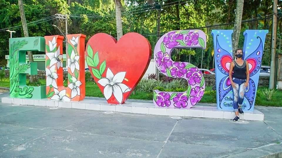 Monumentos de São Vicente/SP Ganham Novo Colorido com Olhar Feminino - Portal OH2C