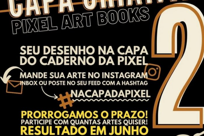 Concurso Capa Criativa Pixel Art Book 2 - Portal OH2C