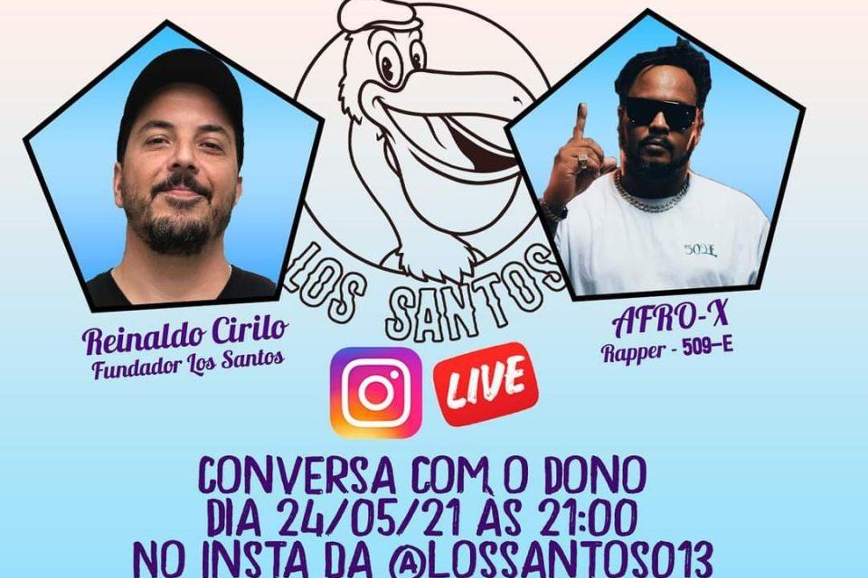 """Rapper Afro-X é o Convidado da Conversa com o Dono """"Los Santos"""" - Portal OH2C"""