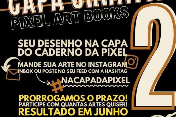 PARTICIPE - Capa Criativa Pixel Art Books - Portal OH2C