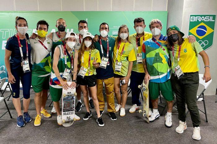 Seleção Brasileira Olímpica de Park desembarca no Japão - Portal OH2C