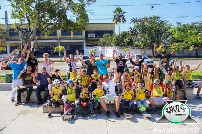 Projeto Escola A.V.E.R.A. de Skate em São Vicente/SP está de Volta - Portal OH2C