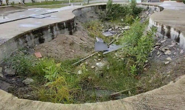 Em Rítimo de Olimpíadas São Vicente/SP tem Skate Park Abandonada - Portal OH2C