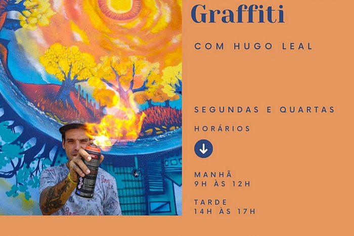 """Ana Escola de Artes Apresenta """"Curso de Graffiti"""" - Portal OH2C"""