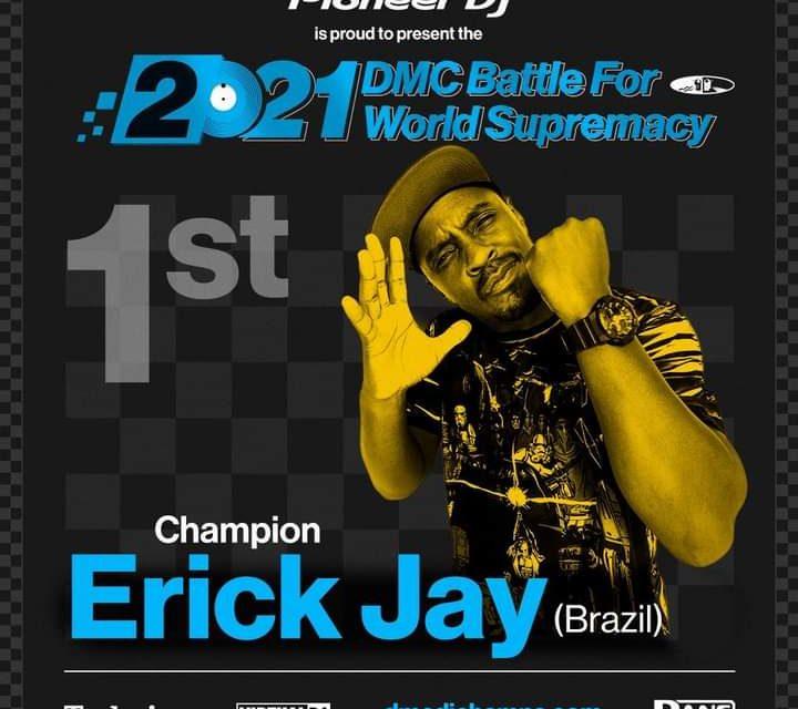 DJ Erick Jay é Tetra Campeão Mundial do DMC World Battle - Portal OH2C